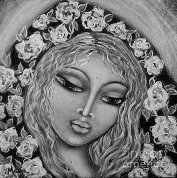 Mary Mary in Black and White by Maya Telford