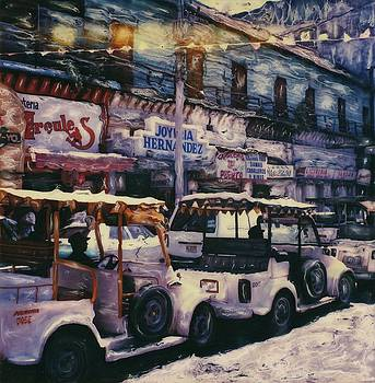 Mazatlan Pulmonia Taxis by Rod Huling