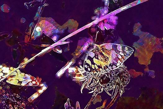 Meadow Flower Meadow Colorful  by PixBreak Art