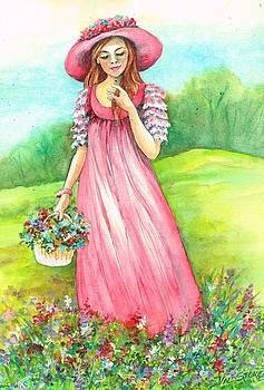Meadow maid by Val Stokes