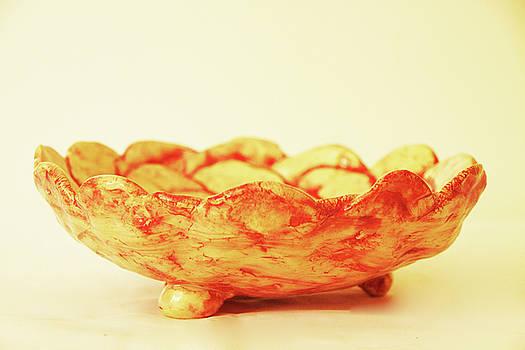 Medium Patches bowl1 by Itzhak Richter