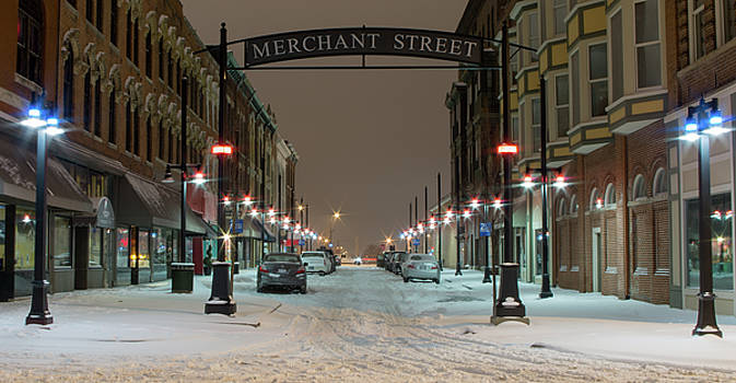 Merchant Street  by George Strohl