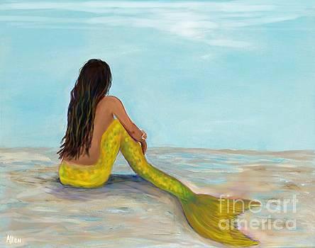 Mermaid Sunny by Leslie Allen
