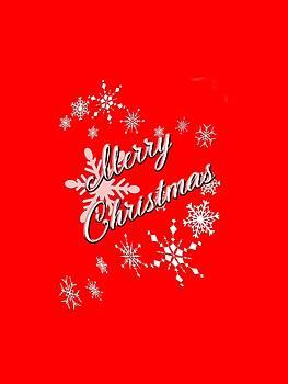 Merry Christmas by Judy Hall-Folde