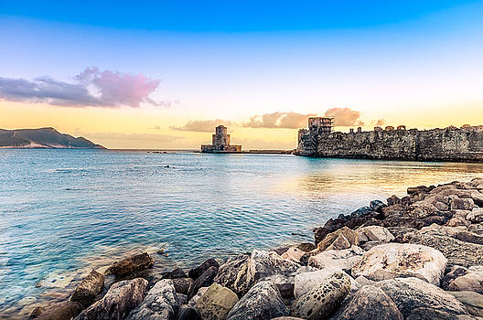 Methoni's Castle / Greece. by Stavros Argyropoulos