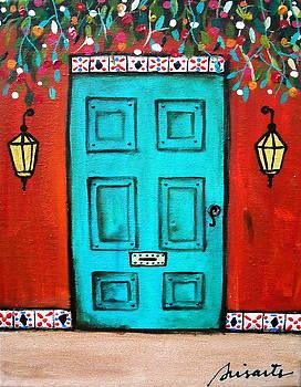 PRISTINE CARTERA TURKUS - MEXICAN DOOR PAINTING