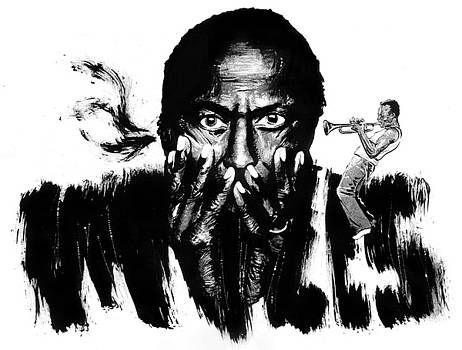 Miles Davis by Ken Meyer jr