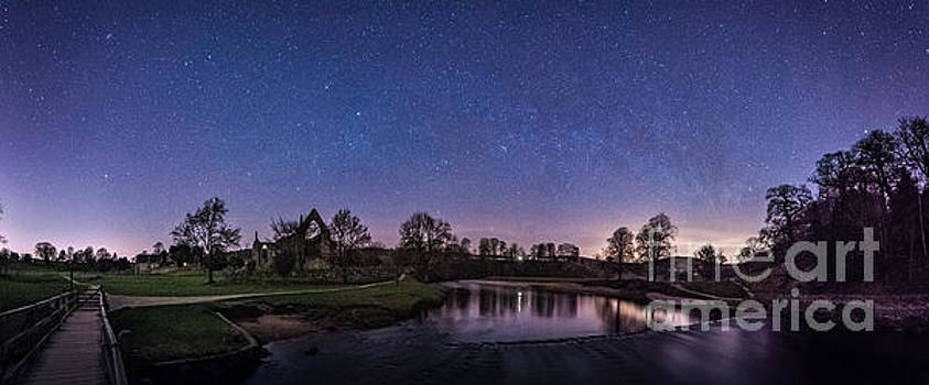 Mariusz Talarek - Milky Way @ Bolton Abbey