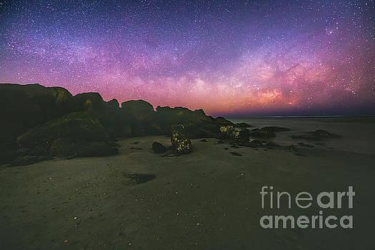 Milky Way Beach by Robert Loe