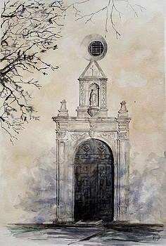 Mission Nuestra Senora del Espiritu Santo de Zuniga by Karen Boudreaux