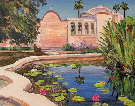 Mission San Juan Capistrano by Robert Gerdes