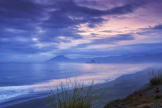 Misty Coastline by Andrew Soundarajan