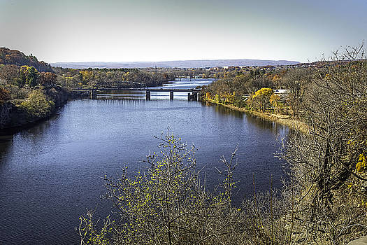 Mohawk River in Rexford, New York by Ray Summers Photography