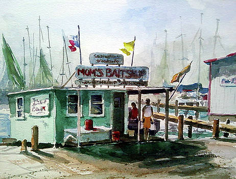 Mom's Bait Shop by Tina Bohlman