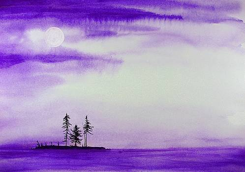 Moon and Mist by Scott Manning