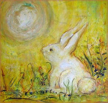 Moon Hare by Bonnie Bardos