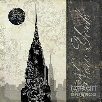 Moon Over New York by Mindy Sommers