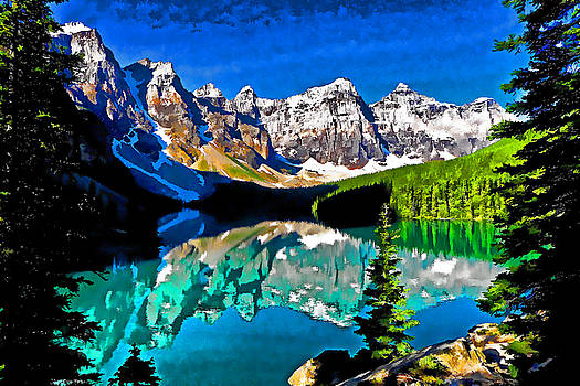 Dennis Cox WorldViews - Moraine Lake