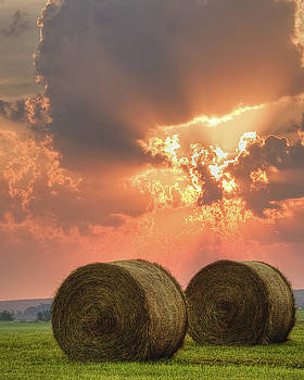 Morning in the Heartland by Ron  McGinnis
