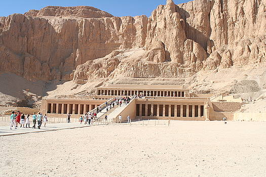 Mortuary Temple of Hatshepsut by Sheryl Chapman Photography