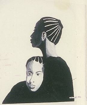 Mother and Child by Otis L Stanley