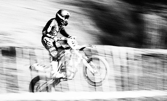 Angel Ciesniarska - Motocross racing