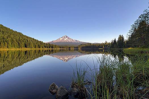 Mount Hood at Trillium Lake by David Gn