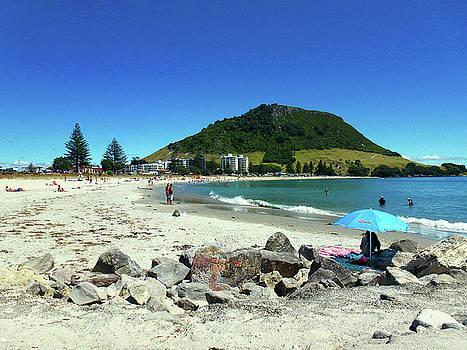 Mount Maunganui Beach 1 - Tauranga New Zealand by Selena Boron