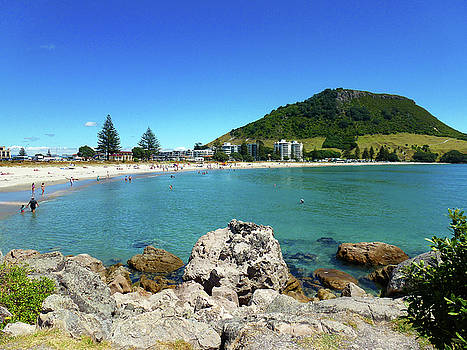 Mount Maunganui Beach 8 - Tauranga New Zealand by Selena Boron