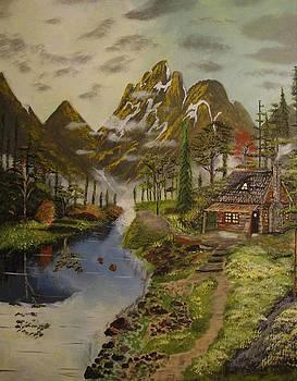 Mountain Retreat by Julio Palomino
