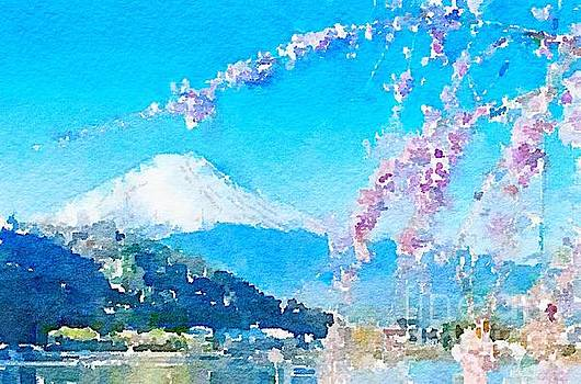 Rich Governali - Mt. Fuji with Cherry Blossoms
