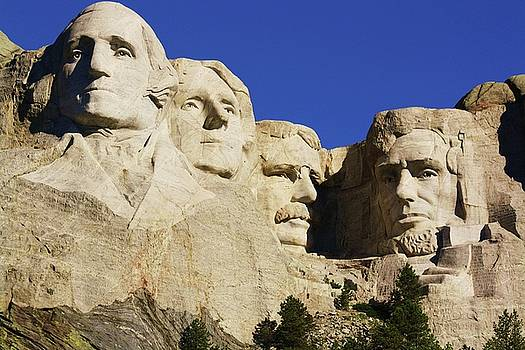 Mt. Rushmore by Russell  Barton