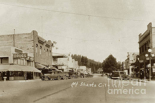 California Views Archives Mr Pat Hathaway Archives - Mt. Shasta City, California Circa 1930