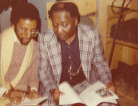 Muddy Waters with Eric E by Otis L Stanley