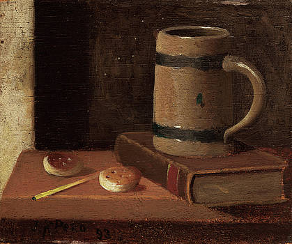 John Frederick Peto - Mug, Book, Biscuits, and Match