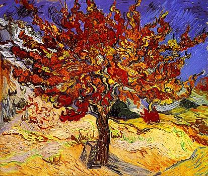Mulberry Tree by Van Gogh