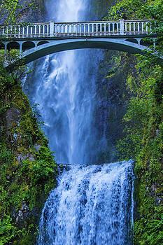 Multnomah Falls Bridge by Jonny D