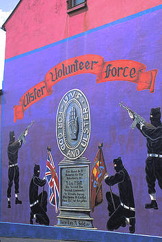 Mural in Belfast North Ireland by Carl Purcell