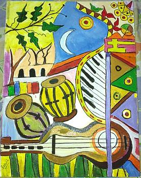 Music and Nature.... by Sonali Singh