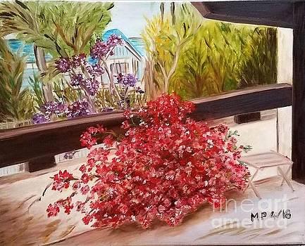 My Balcony by Madeleine Prochazka