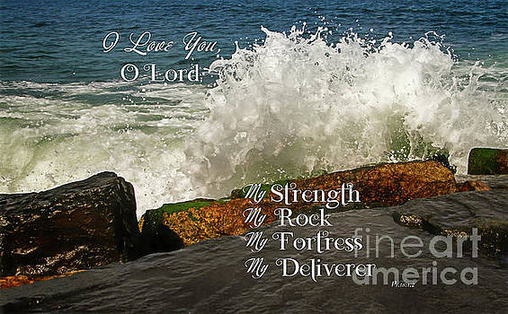 My Rock and my Fortress Psalm 18 by Eleanor Abramson
