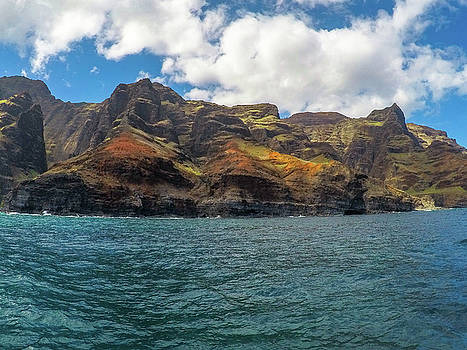 Na Pali Coastline by Megan Martens