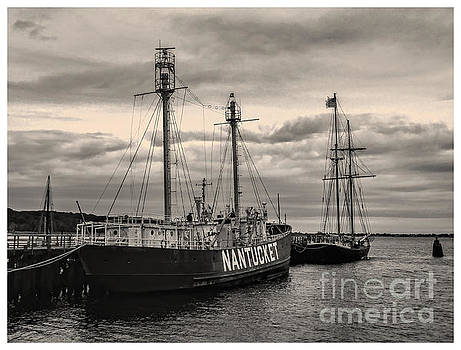 Nantucket Lightship by Jeff Breiman