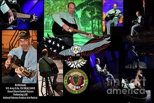 National Veterans Creative Arts Festival by Bill Richards