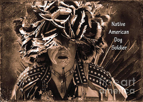 Native American Dog Soldier by Olivia Hardwicke