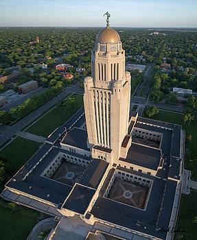 Nebraska State Capitol Building by Mark Dahmke