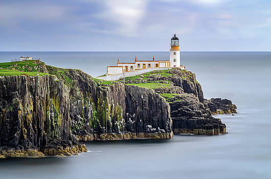 Neist Point Lighthouse by Swen Stroop
