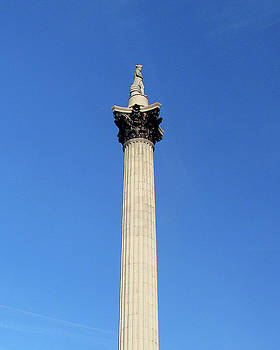 Nelsons Column, Trafalgar Square, London by Misentropy