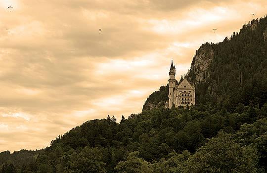 Neuschwanstein Germany by Kurt Williams