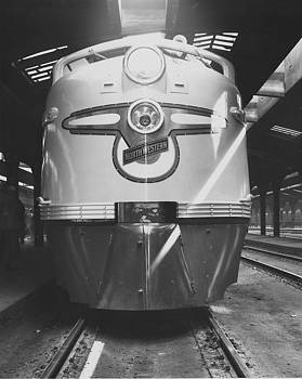 New Diesel Engine at Chicago Passenger Terminal - 1969 by Chicago and North Western Historical Society